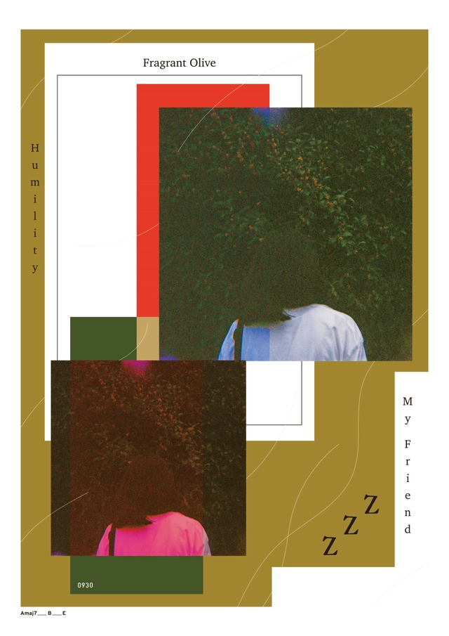"【collaboration series】Connecter Tokyo ×""z"" ""金木犀が香る道を"" black"