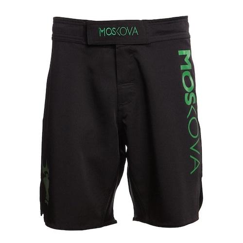 Moskova X-トレーニングショーツ ブラック/グリーン