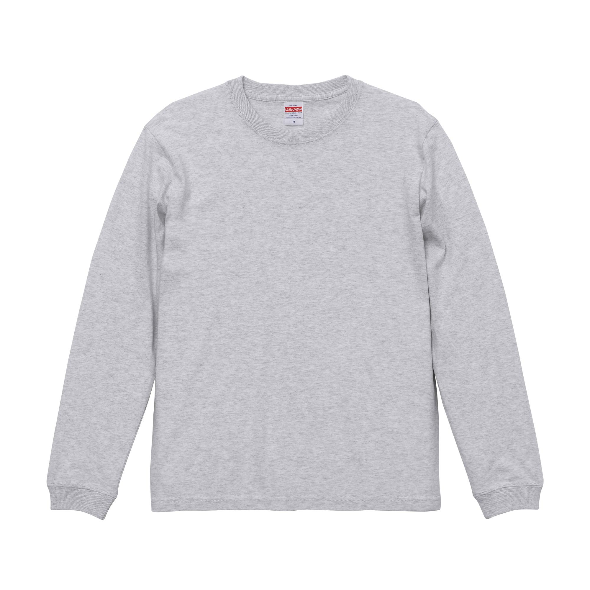 デザインチョイス 長袖5.6オンス ロングスリーブ Tシャツ(1.6インチリブ)
