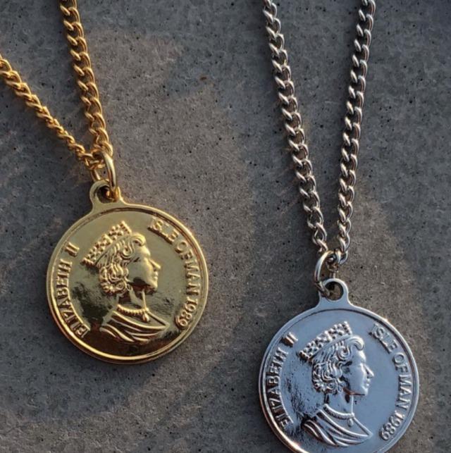 【翌日発送/数量限定】Coin necklace LD0151