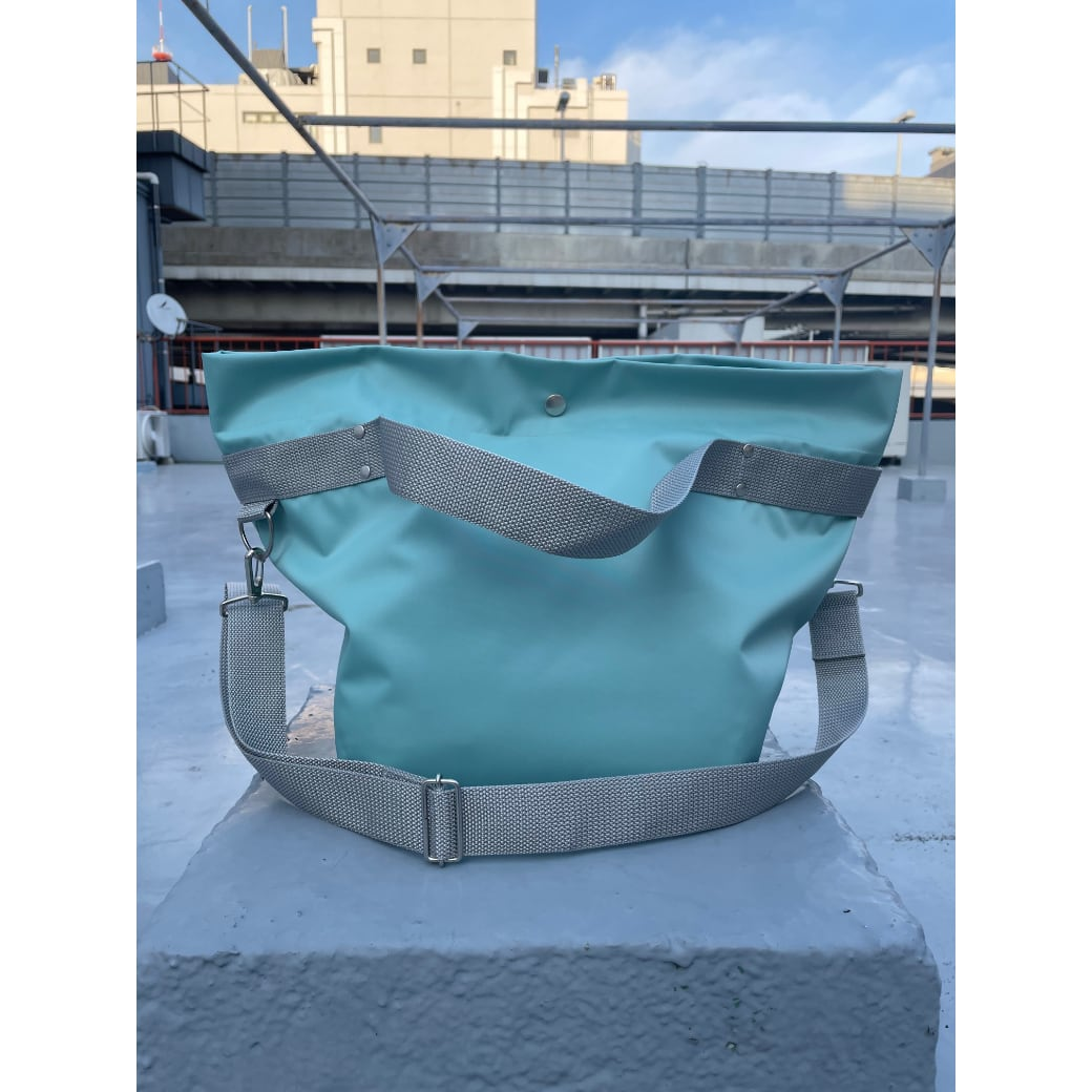 【sandglass】duffle bag(M)mint / 【サンドグラス】ダッフルバッグ(M)本体ミント