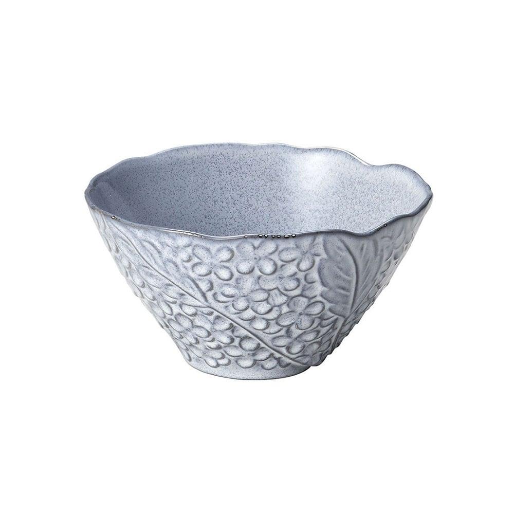 aito製作所 「リアン Lien」サラダ&フルーツボウル 皿 約18cm L グレー 美濃焼 267822