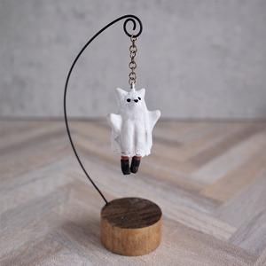 お化けネコ - 塑像