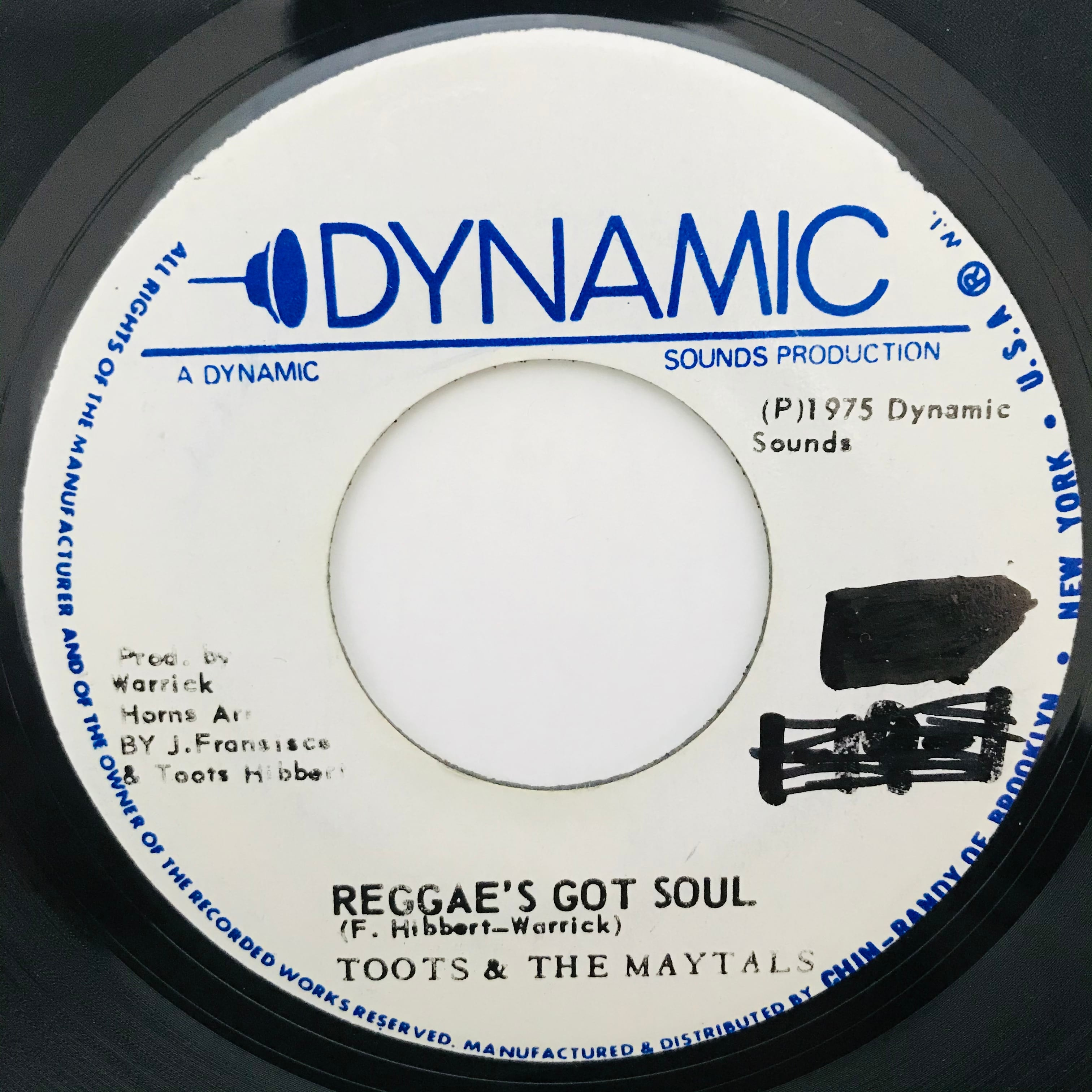 Toots & The Maytals - Reggae's Got Soul【7-10939】