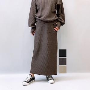 Seagreen(シーグリーン) BIG WAFFLE スカート 2021秋冬新作 [送料無料]