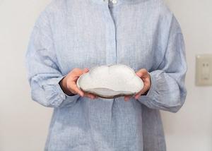 陶器 小鉢 小皿 |掛分 雲形皿/石塚操