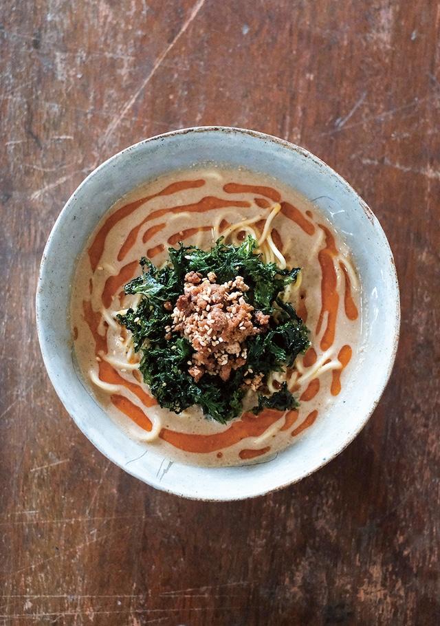 濃厚豆乳担々麺(3人分 / 冷凍)