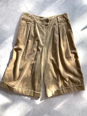 vintage  velours halfpants