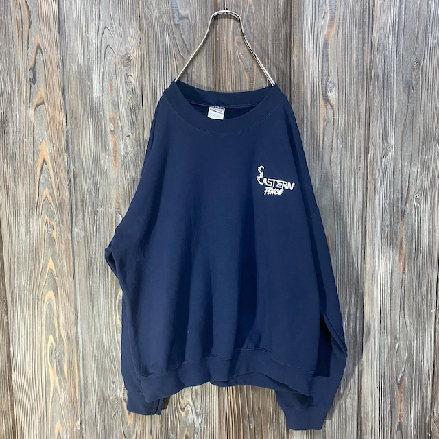 [used]Eastern Fence embroidery sweat