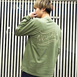 "【WillxWill × NOHALA】スペシャルコラボレーション ""Gentian"" Long Sleeve Light Olive + マニック LIVE STREAMING 映像 セット"