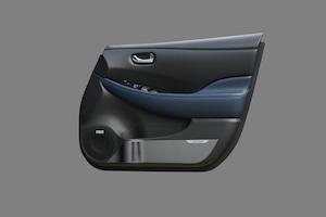 AUTECH ドアインナープロテクター (日産リーフ ZE1) (AUTECHロゴ入り 1台分)