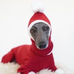 "hood warmer ""red×organic cotton fur"""