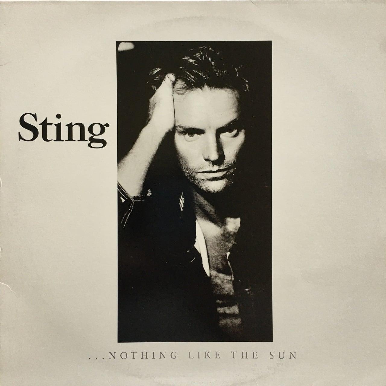 【LPx2・米盤】Sting  / ...Nothing Like The Sun