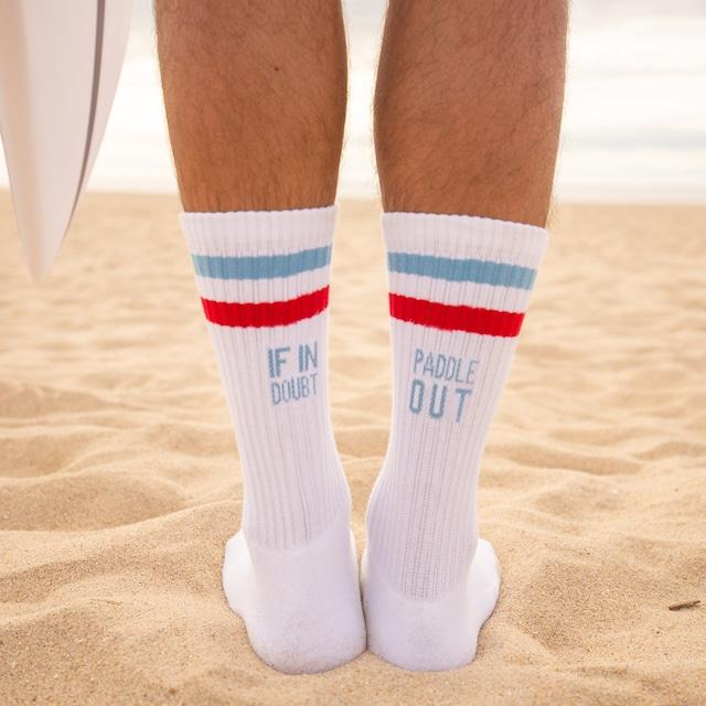 Awesome Maps  - Surfer Socks -