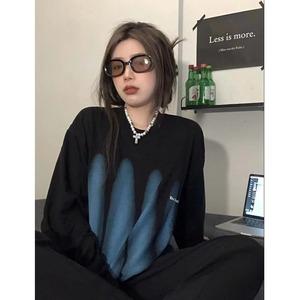 【トップス】ファッションルーズヨーロッパ 目抜き通りTシャツ52190086