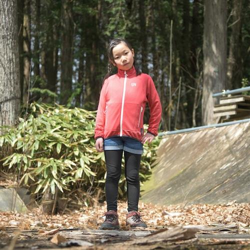 Kids 130 / UN2000 Light weight fleece Jacket / Red