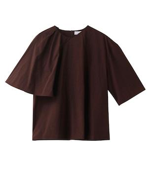 【AKIRANAKA】アシンメトリードレープTシャツ AP2141