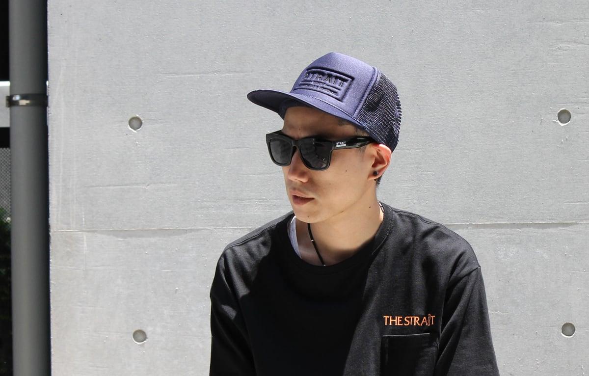 EMB LOGO MESH CAP