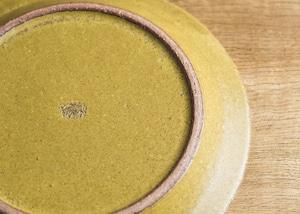 SHIROUMA 洋皿 21cm 芥子色(中皿・リムプレート・メインディッシュ)/長谷川 哲也