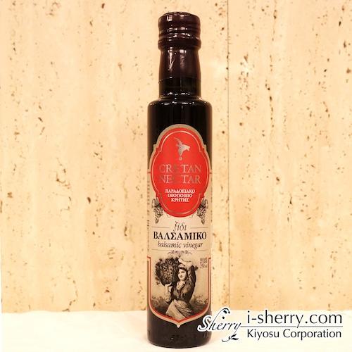 【バルサミコ酢 CRETAN NECTAR】 VIOS バルサミコ醸造酢 赤 250ml