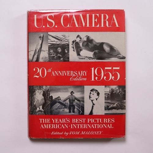 U.S.CAMERA ANNUAL 1955 20th ANNIVERSARY Edition T.J.MALONEY編 / Christian Bouqueret