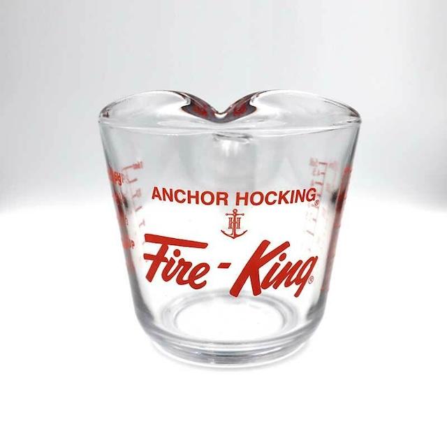 Fire King メジャー 500ml アウトドア キャンプ クッキング 計量カップ 熱湯 電子レンジ 食洗機 オーブン OK 強化ガラス
