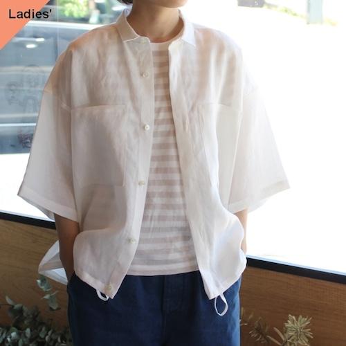 HAVERSACK ハバーサック 622011 ラミーワイドシャツ White