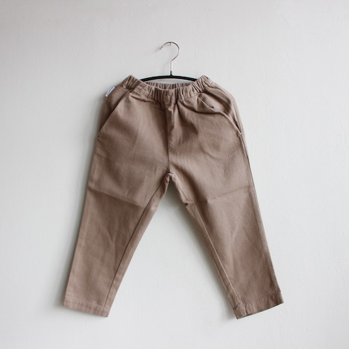 《MINGO. 2021SS》Tapered Trouser / Moon Dust