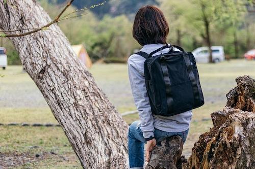 撥水加工ナイロンリュック【アウトドア・キャンプ ・通勤通学】