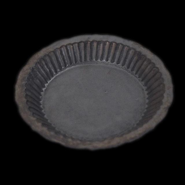 マルヤマウェア maruyama wear  しのぎ深皿 7寸(約21.5cm)ブロンズ