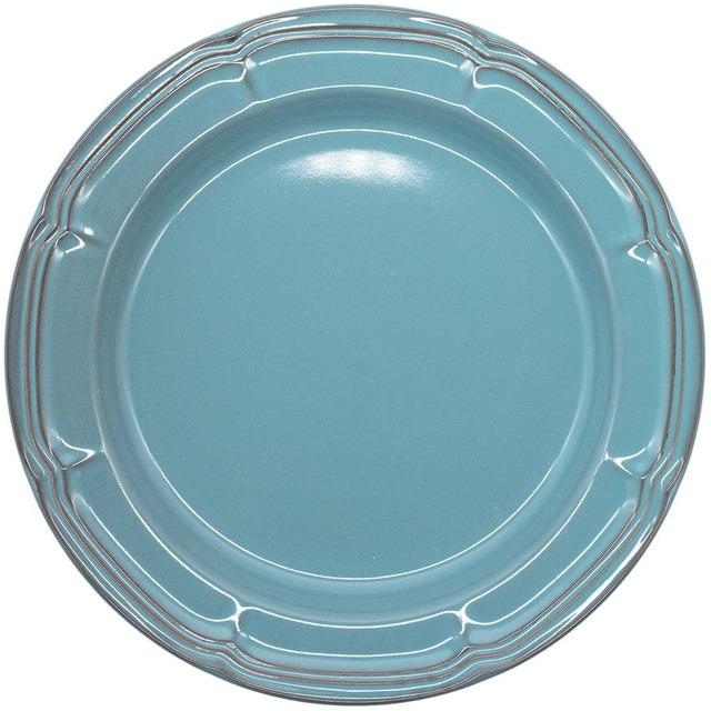 Koyo ラフィネ リムプレート 皿 約29cm アンティークブルー 15987102