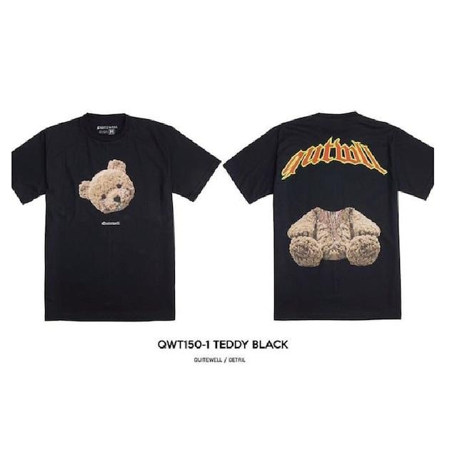 【QUITEWELL】ギロチンベアーTシャツ