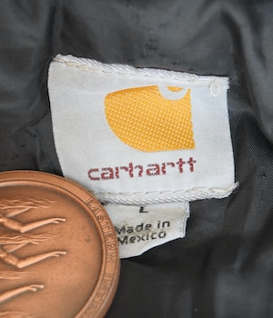 VINTAGE 90s CARHARTT COVER ALL JACKET