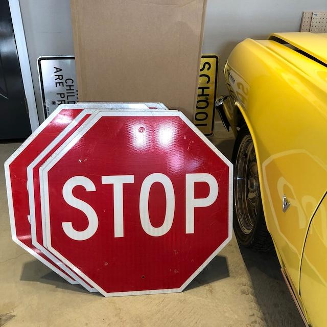 STOP 30in 6 アメリカンロードサイン トラフィックサイン 道路標識
