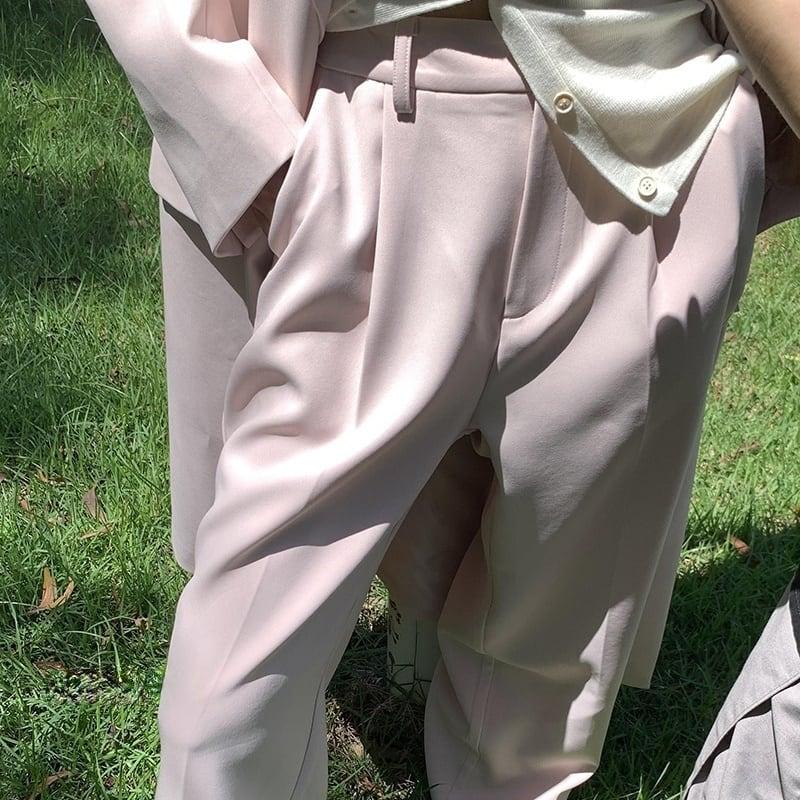 Peach pink suit pants(ピーチピンクスーツパンツ)b-437