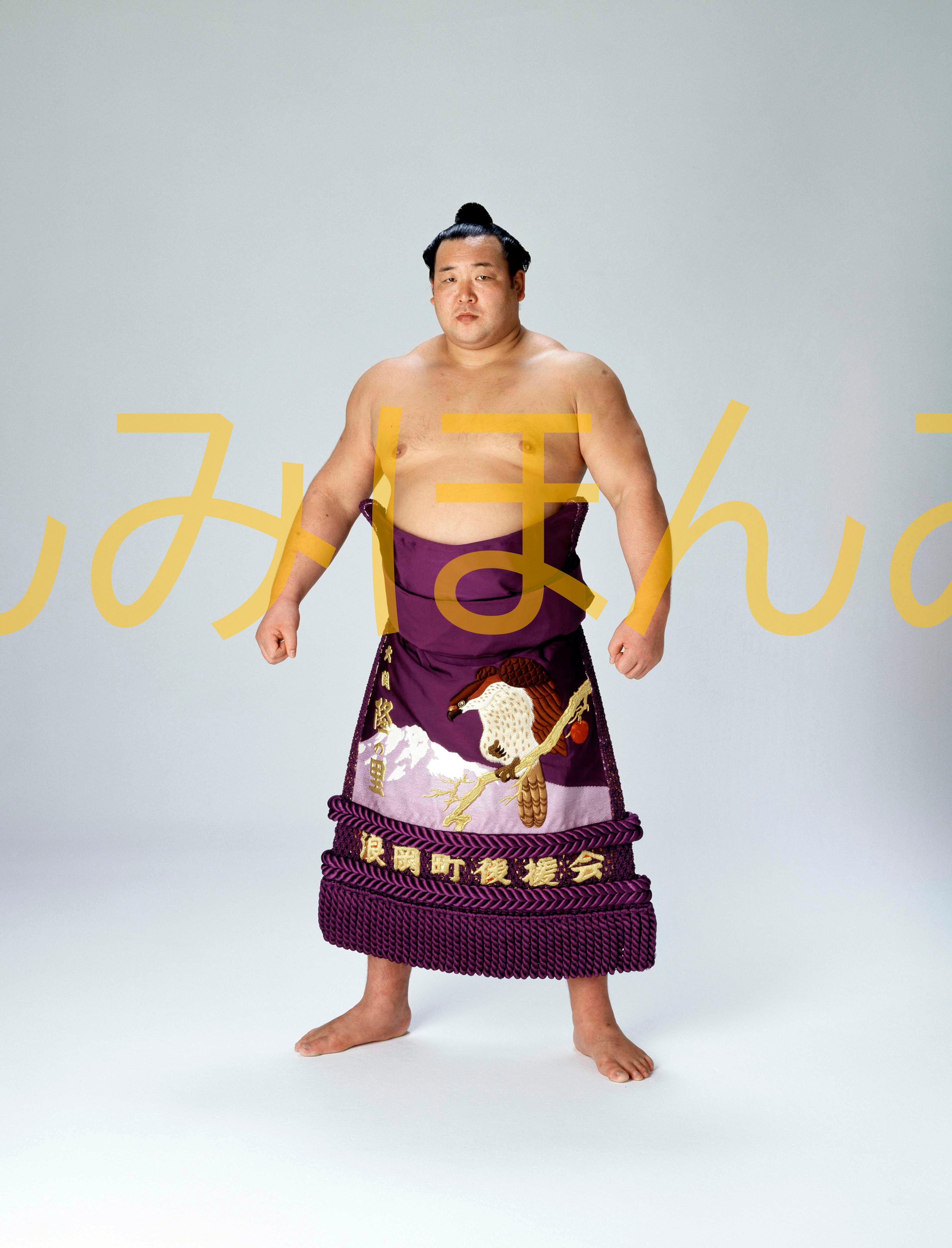 昭和57年9月場所全勝 大関 隆の里俊英関(初優勝)