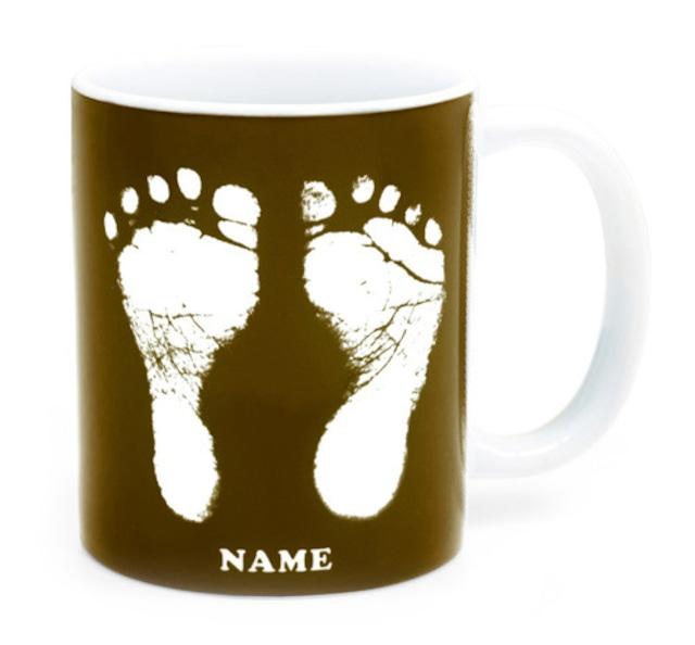 ai mug   B-type (BROWN)