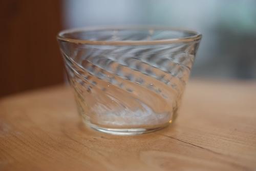 【倉敷ガラス・小谷栄次】◆◆◆小鉢◆◆◆透明◆◆◆