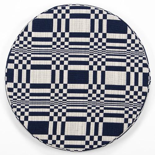 JOHANNA GULLICHSEN(ヨハンナ グリクセン) Disc Cushion Doris(ドリス) Dark Blue