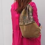 【sandglass】2way knapsack & shoulder bag / 【サンドグラス】ツーウェイ ナップサック & ショルダー バッグ