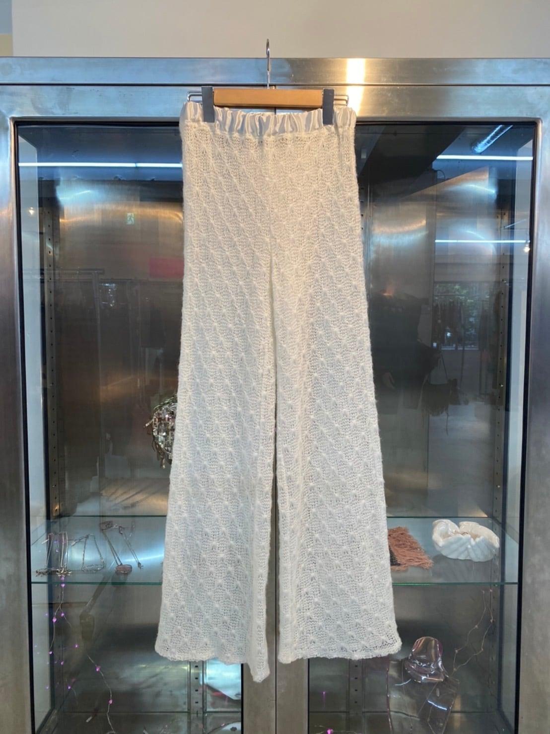 New knit pants