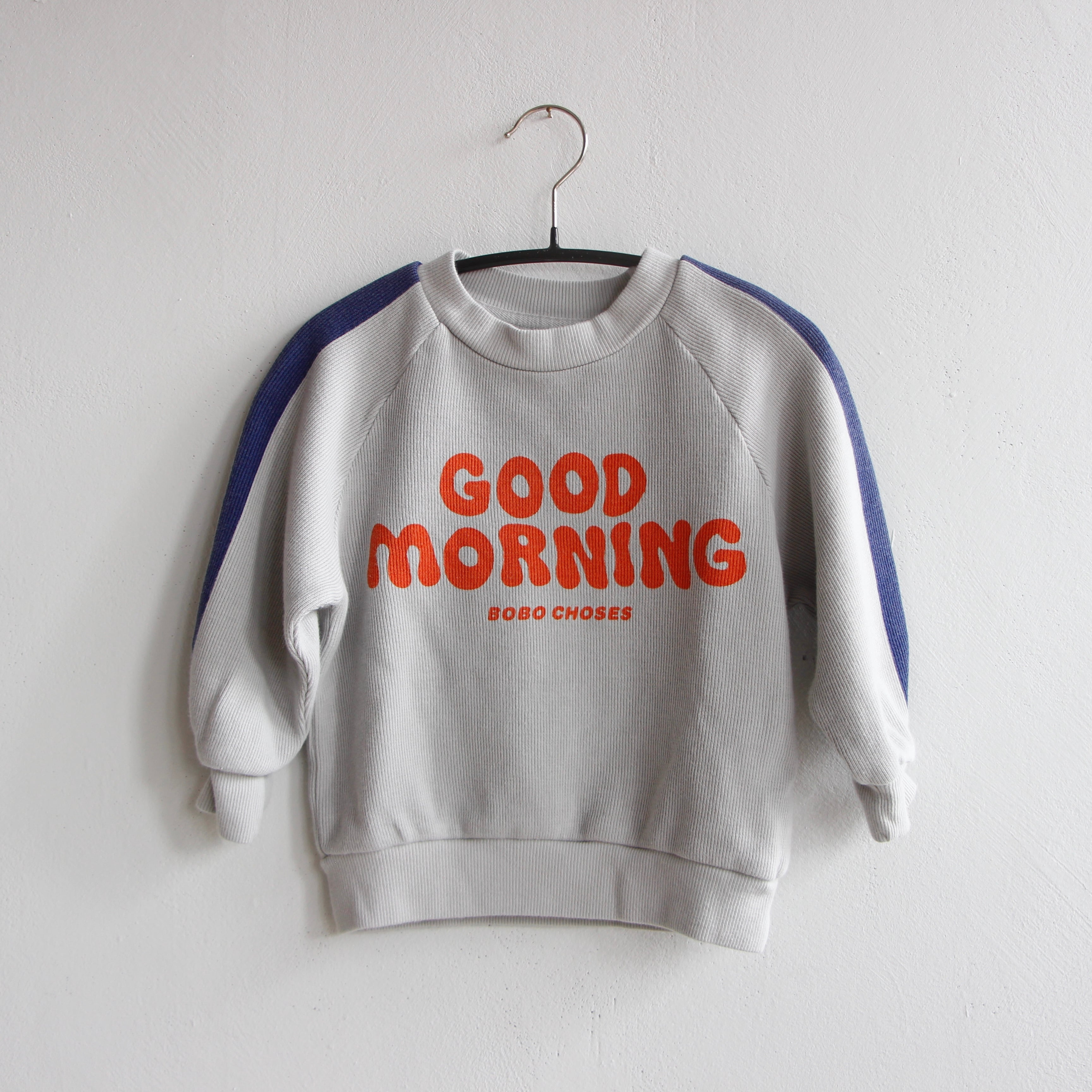 《BOBO CHOSES 2021AW》Good Morning sweatshirt / 12-36M