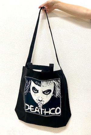 〈カネコアツシ〉デスコ パッチワークトートバッグ