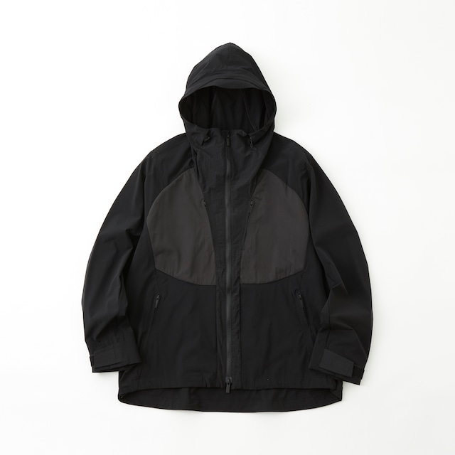 STRETCHED MOUNTAIN PARKA - BLACK