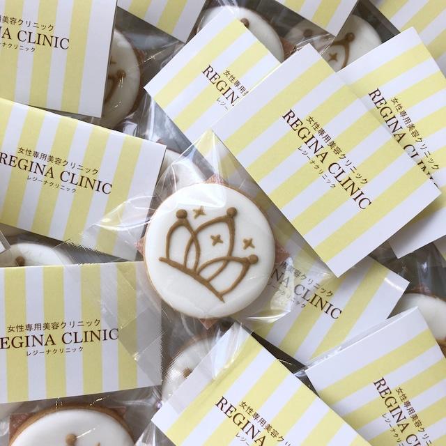 【企業さま向け】ヘッダーパッケージ付き丸型アイシングクッキー(⌀5cm)