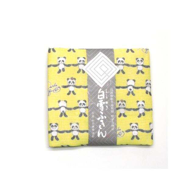 白雪 ヘアターバン ≪ハッピー★ぱんだ≫ / イエロー