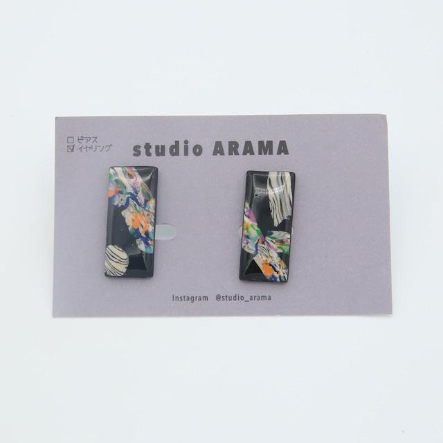 studioARAMA/スタジオアラマ/アートミニカラーイヤリング/AMC-2-23