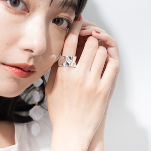 RING || 【予約商品】ORIGAMI RING SIZE M || 1 RING || SILVER || FDF132