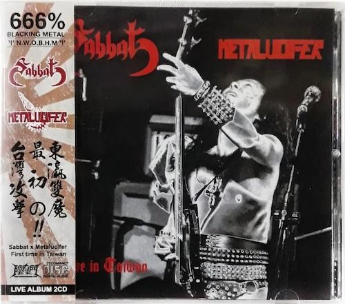 Sabbat x Metalucifer Live in Taiwan 2CD