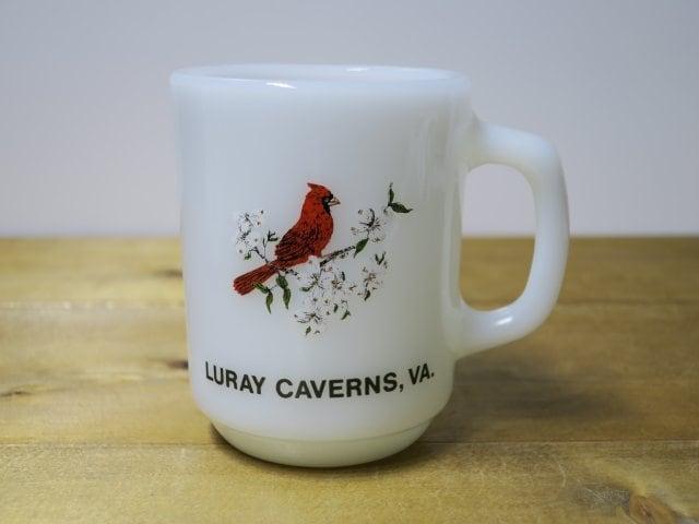 Fire King 9オンスマグ LURAY CAVERNS,VA